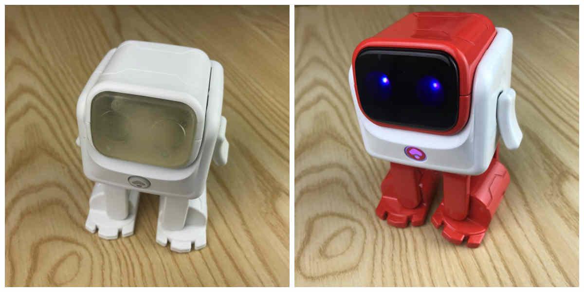 Dancebot الروبوت الراقص الرائع مع سماعة بلوتوث للهواتف الذكية