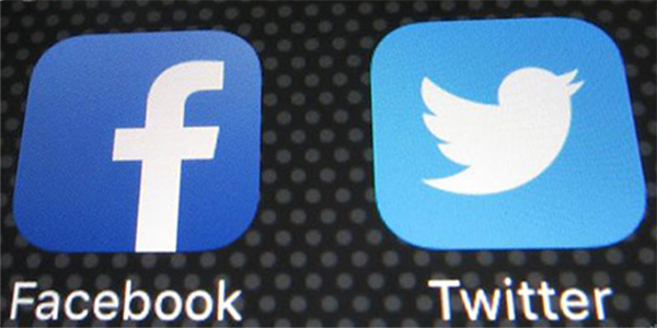 فيسبوك وتويتر تحت عقوبات الاتحاد الأوروبي