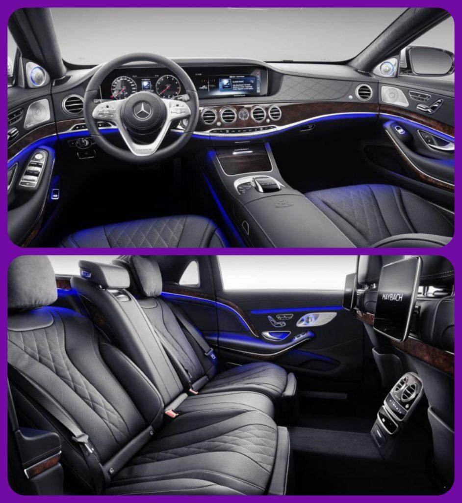 مرسيدس مايباخ من الداخل مرسيدس مايباخ إس كلاس 2019 Mercedes-Maybach S650