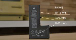 تفكيك iPhone XS و البطارية بشكل حرف L فيديو