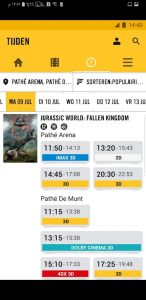 تحميل تطبيق pathe لعرض اوقات السينما
