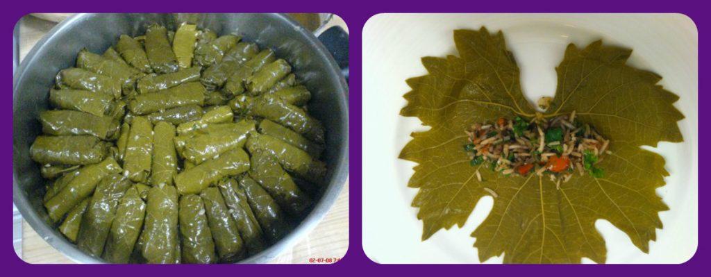 طريقة تحضير اليلنجي (ورق العنب)