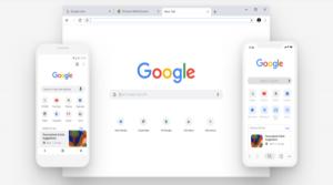 جوجل كروم الجديد اطلقته شركة جوجل بتصميم رائع