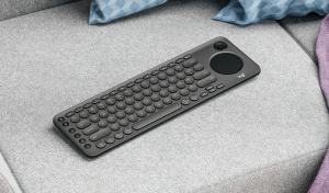 لوحة مفاتيح Logitech لأجهزة التلفاز الذكية