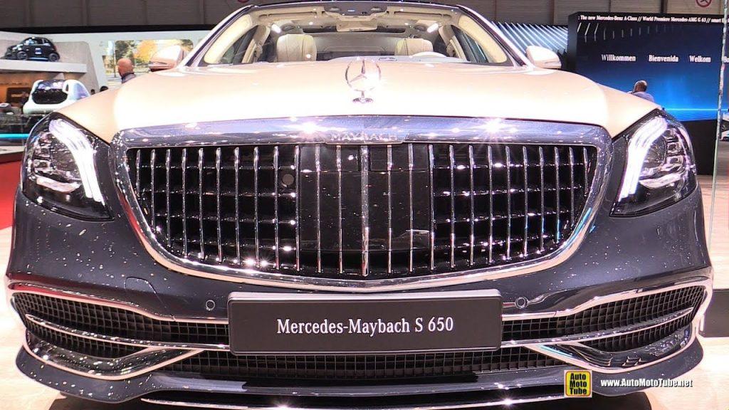 مرسيدس مايباخ إس كلاس 2019 Mercedes-Maybach S650