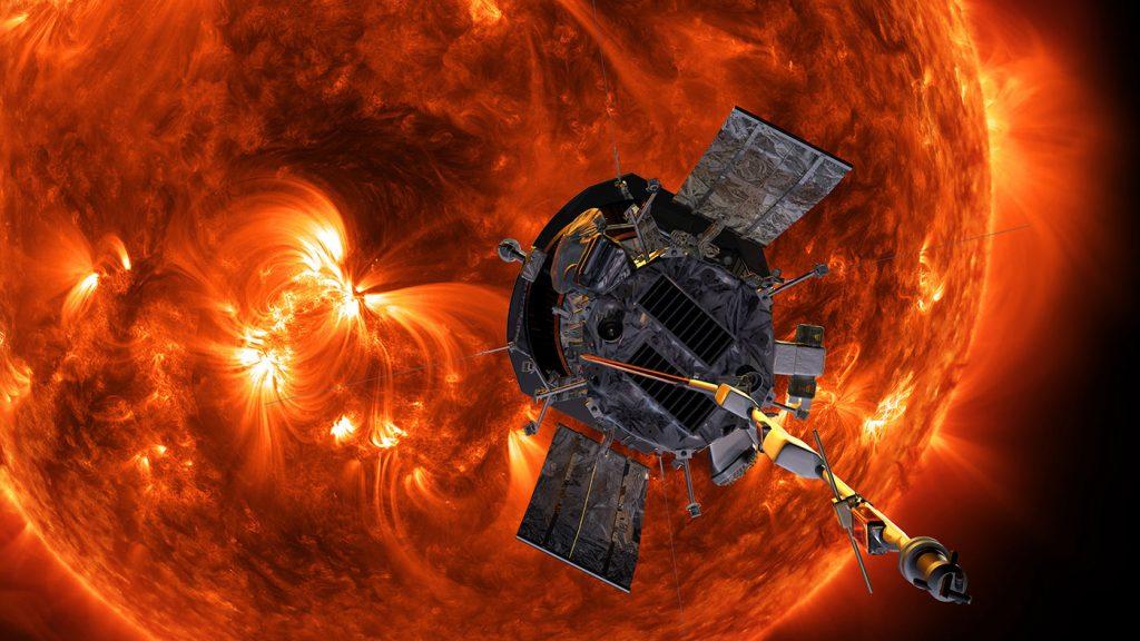 مركبة ناسا التي انطلقت الى الشمس ترسل أولى الصور