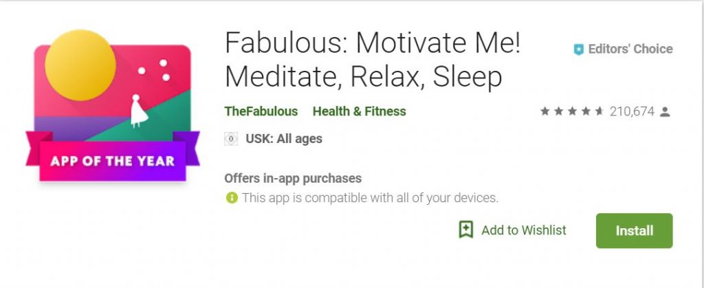 تنزيل تطبيق التمارين واللياقة الشخصيةFabulous