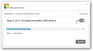 برنامج Windows USB DVD Download Tool