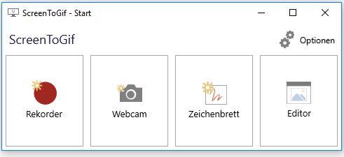 ScreenToGifبرنامج تسجيل شاشة الكمبيوتر وكاميرا الويب الشهير