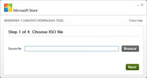 برنامج Windows USB DVD Download Toolلحرق Windows على الفلاشة أو سيدي