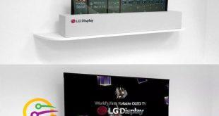 أجهز التلفاز القابلة للتدوير من LG في الاسواق العام القادم فيديو