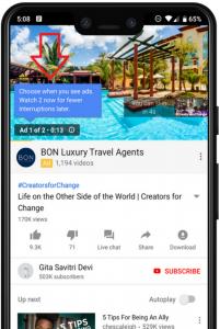 يوتيوب يختبر عمل اعلانات المتتالية