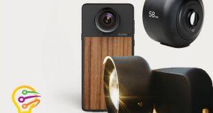 عدسة 58 مم telephoto لدعم تكبير 4X للأيفون و Pixel و Galaxy