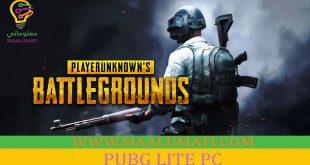 لعبة ببجي لايت للكمبيوتر PUBG LITE PC