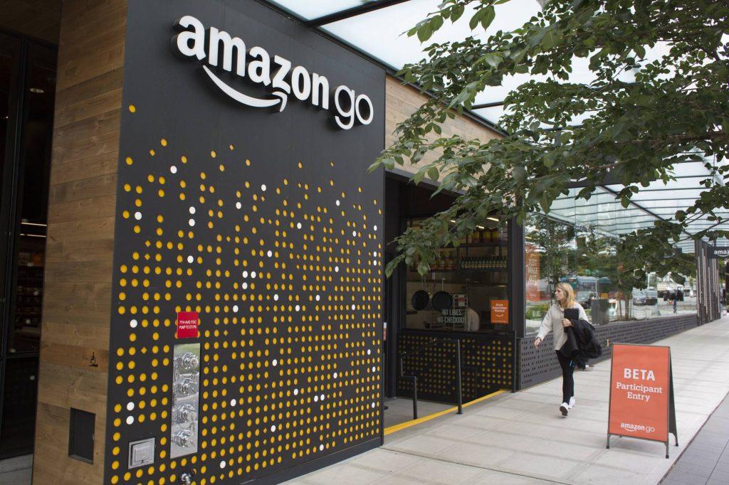 التقنية العالمية الحديثة Amazon Go
